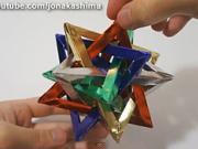 b4de0cadd Vianočná hviezda - ako vyrobiť vianočnú hviezdu z papiera - VIDEO ...