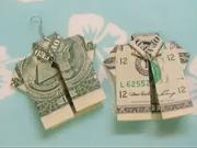 Ako posklada peniaze do tvaru koele - video Ako
