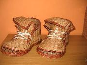 Papierové topánky - ako urobiť topánky pletené z papiera - pletenie z  papiera 64b6656fe43
