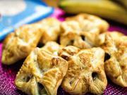 01e305105e2c Domáce šatôčky z lístkového cesta - recept na šatôčky s čokoládou a banánom