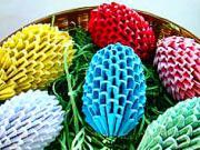 11588578f Veľkonočné vajíčka z papiera - ako vyrobiť papierové veľkonočné vajíčka